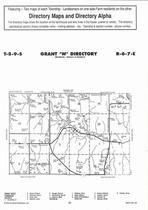 Grant Township - West, Directory Map, Riley County 2006
