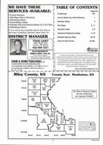 Index Map, Riley County 2006