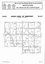 Swede Creek Township - West, Directory Map, Riley County 2006