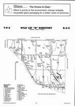 Wild Cat Township - West, Directory Map, Riley County 2006