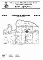 Zeandale Township - North, Directory Map, Riley County 2006