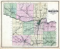 County Map, Shawnee County 1873