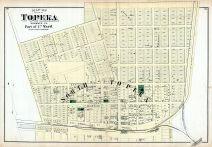 Topeka City - Ward 1 - Part, Shawnee County 1873