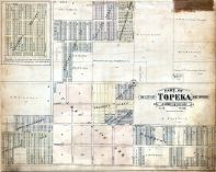 Topeka City and Envirions - Sec. 35, Sec. 34 - Part, Shawnee County 1898