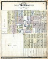 Topeka City and Environs - Sec. 1, Shawnee County 1898