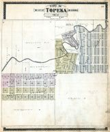 Topeka City and Environs - Sec. 12, Shawnee County 1898