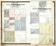 Topeka City and Environs - Sec. 17 - Part, Sec. 3 - Part, Shawnee County 1898