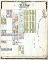 Topeka City and Environs - Sec. 4, Shawnee County 1898