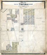 Topeka City and Environs - Sec. 5, Shawnee County 1898