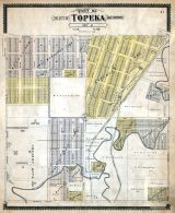Topeka City and Environs - Sec. 6, Shawnee County 1898
