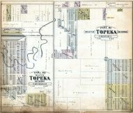 Topeka City and Environs - Sec. 3 and Sec. 33 - Part, Shawnee County 1898