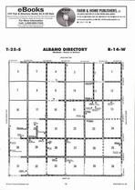 Albano Township Directory Map, Stafford County 2006