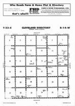 Cleveland Township Directory Map, Stafford County 2006