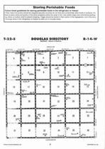 Douglas Township, Radium,  Directory Map, Stafford County 2006