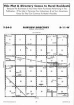 Fairview Township, Zenith, Directory Map, Stafford County 2006