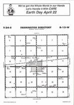 Farmington Township, Macksville, Directory Map, Stafford County 2006