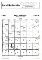 Hayes Township, Hudson, Directory Map, Stafford County 2006