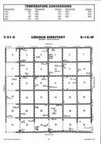Lincoln Township Directory Map, Stafford County 2006