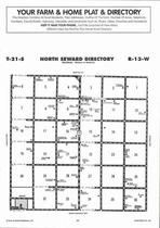 North Seward Township Directory Map, Stafford County 2006