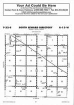 South Seward Township Directory Map, Stafford County 2006