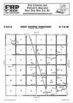 West Cooper Township Directory Map, Stafford County 2006