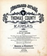 Title Page, Thomas County 1928
