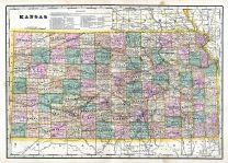 Kansas State Map, Wabaunsee County 1902