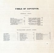 Table of Contents, Wabaunsee County 1902