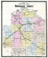 Wabaunsee County Outline Map, Wabaunsee County 1902