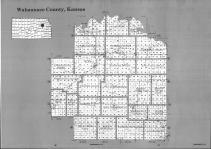 Index Map, Wabaunsee County 1992