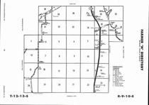 Farmer Township - North, Directory Map, Wabaunsee County 2006
