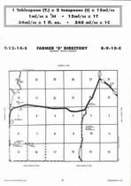 Farmer Township - South, Directory Map, Wabaunsee County 2006