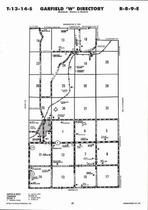 Garfield Township - West, Alta Vista, Directory Map, Wabaunsee County 2006