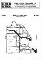 Kaw Township - East, Directory Map, Wabaunsee County 2006