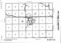 Mill Creek Township - South, Lake Wabaunsee, Directory Map, Wabaunsee County 2006