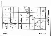 Newbury Township - South, Directory Map, Wabaunsee County 2006