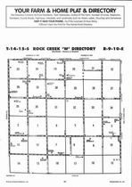 Rock Creek Township - West, Directory Map, Wabaunsee County 2006