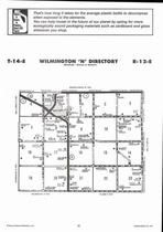 Wilmington Township - North, Eskridge, Directory Map, Wabaunsee County 2006