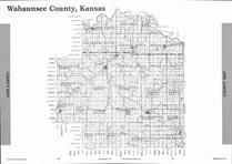 Wabaunsee County Map, Wabaunsee County 2007