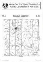 Franklin Township, Hollenberg, Directory Map, Washington County 2006
