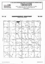 Independence Township, Lanham, Directory Map, Washington County 2006