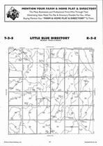 Little Blue Township Directory Map, Washington County 2006