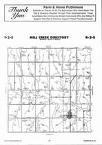 Mill Creek Township, Morrowville, Directory Map, Washington County 2006