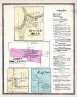Ruddels Mills, North Middletown, Clintonville, Flat Rock, Bourbon County 1877