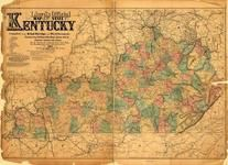 Kentucky Antique Maps And Historical Atlases Historic Map Works - Maps of ky