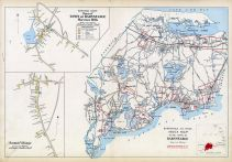 Barnstable Town Index Map, Barnstable Town - Marstons Mills, Santuit Village, Barnstable County 1905