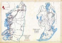 Bourne Town Index Map, Mashpee Town Index Map, Barnstable County 1905