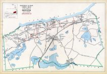 Brewster Town Index Map, Barnstable County 1905