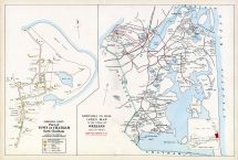 Chatham Town - Chatham North, Orleans Town Index Map, Barnstable County 1905