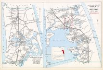Eastham Town Index Map, Wellfleet Town Index Map, Barnstable County 1905